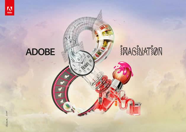 """Nouvelle campagne de publicité pour """"Adobe &"""" 3"""