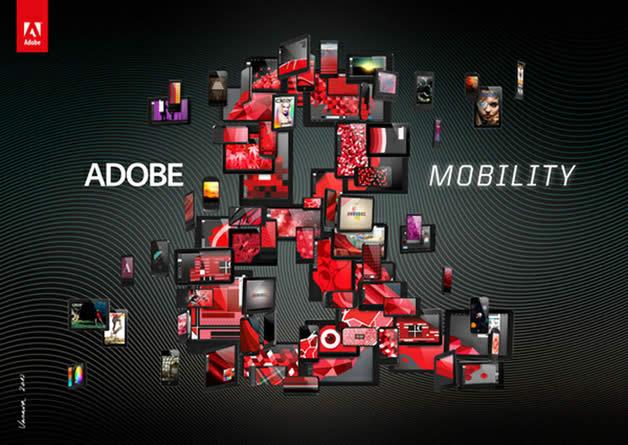 """Nouvelle campagne de publicité pour """"Adobe &"""" 6"""