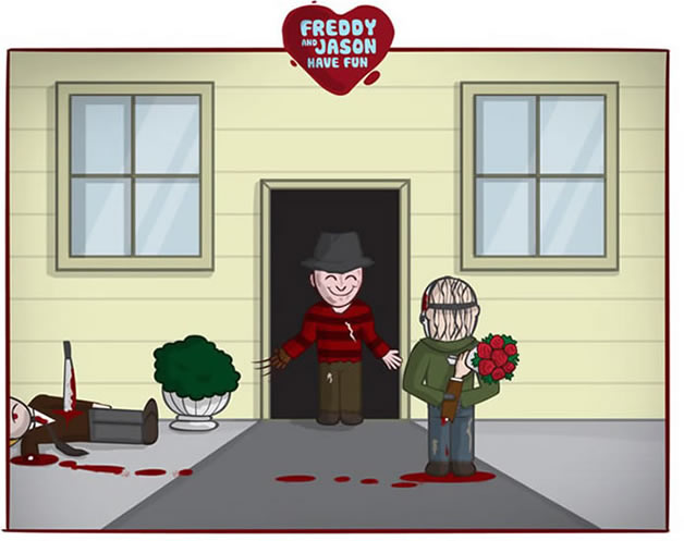 Freddy et Jason s'amusent - du Gore mignon 5