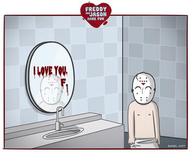 Freddy et Jason s'amusent - du Gore mignon 7