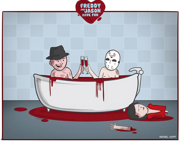 Freddy et Jason s'amusent - du Gore mignon 8