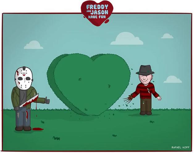 Freddy et Jason s'amusent - du Gore mignon 9