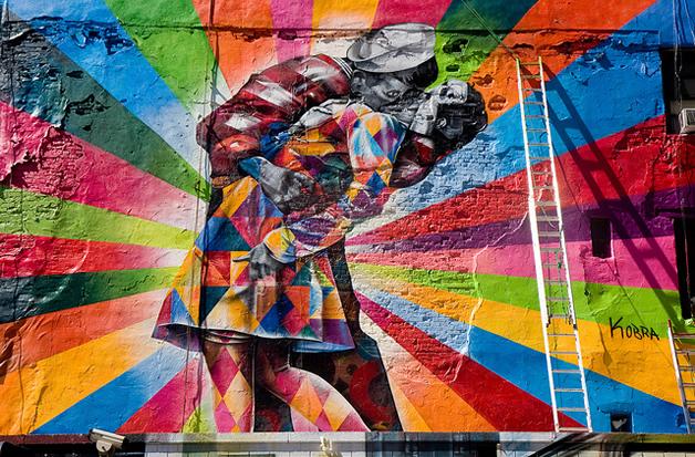 Street Art à New York par Eduardo Kobra 10