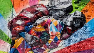 Street Art à New York par Eduardo Kobra