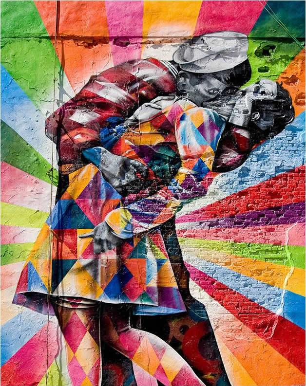 Street Art à New York par Eduardo Kobra 9