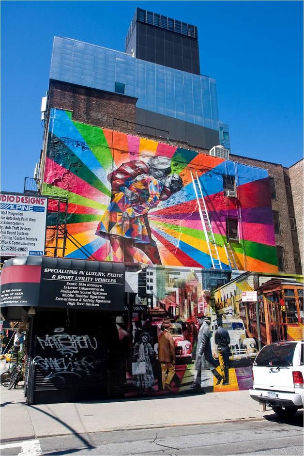 Street Art à New York par Eduardo Kobra 7