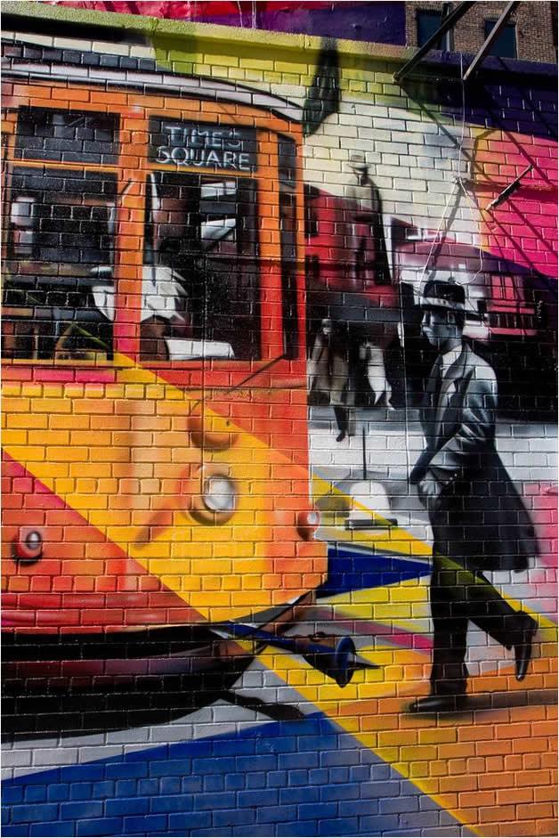 Street Art à New York par Eduardo Kobra 5