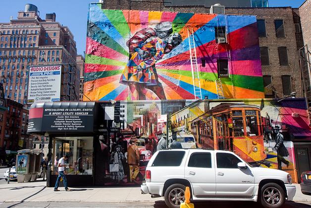 Street Art à New York par Eduardo Kobra 3