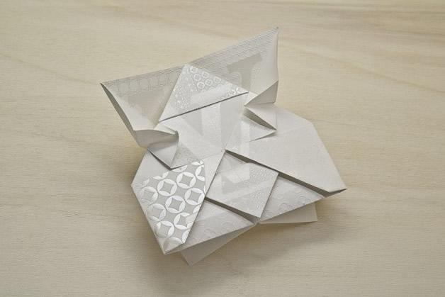 Une invitation en Origami Louis Vuitton 2