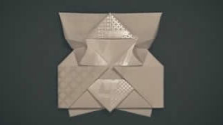 Une invitation en Origami Louis Vuitton
