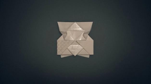 Une invitation en Origami Louis Vuitton 4