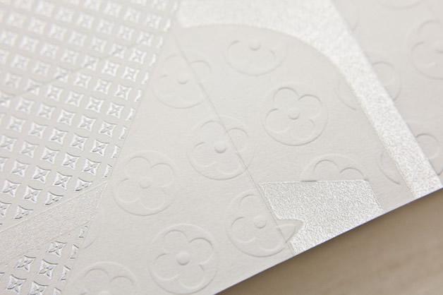 Une invitation en Origami Louis Vuitton 8
