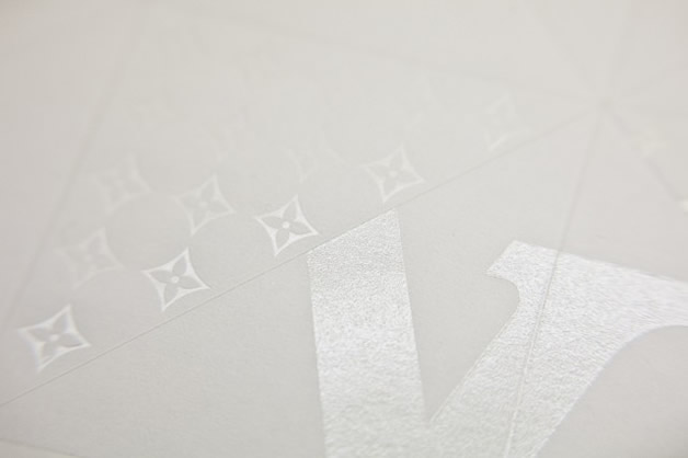 Une invitation en Origami Louis Vuitton 9