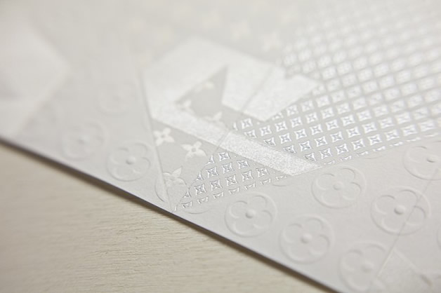 Une invitation en Origami Louis Vuitton 10