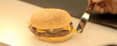Making-of d'une séance de shooting de hamburger McDO 2