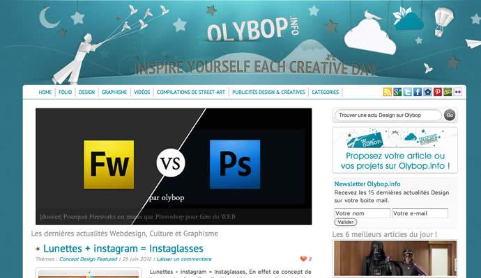 Refresh du template olybop 2