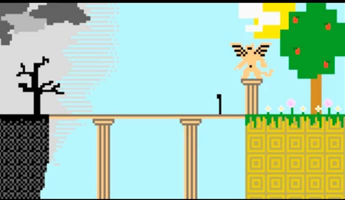 Paphù - web-série en pixel-art et 1er épisode 3