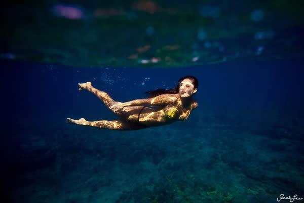 Les photos sous-marines de Sarah Lee 9