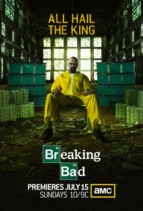 1er poster pour Breaking Bad Saison 5 2
