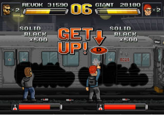 Graphe VS Street-fighter 1