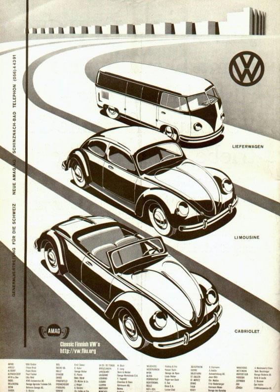 50 vieilles publicités Volkswagen (Combi, Coccinelle...) 2