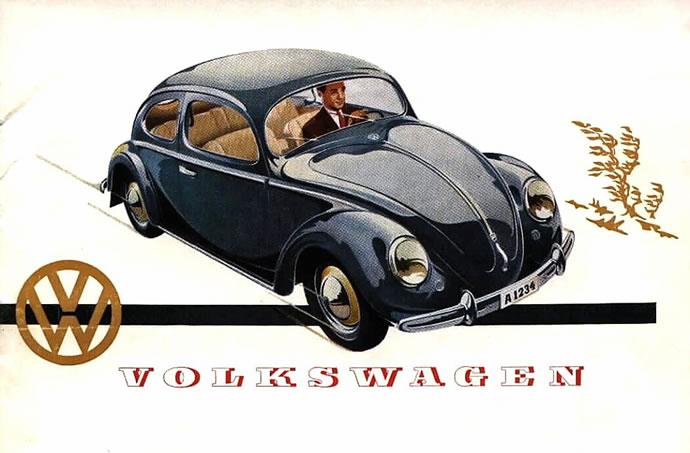 50 vieilles publicités Volkswagen (Combi, Coccinelle...) 3