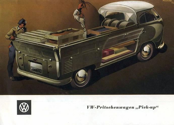 50 vieilles publicités Volkswagen (Combi, Coccinelle...) 4