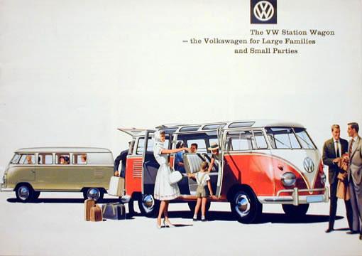 50 vieilles publicités Volkswagen (Combi, Coccinelle...) 7