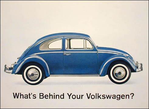 50 vieilles publicités Volkswagen (Combi, Coccinelle...) 8