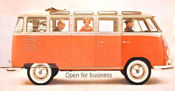 50 vieilles publicités Volkswagen (Combi, Coccinelle...) 10