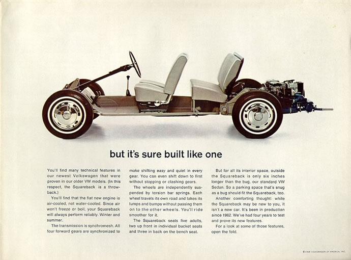 50 vieilles publicités Volkswagen (Combi, Coccinelle...) 11