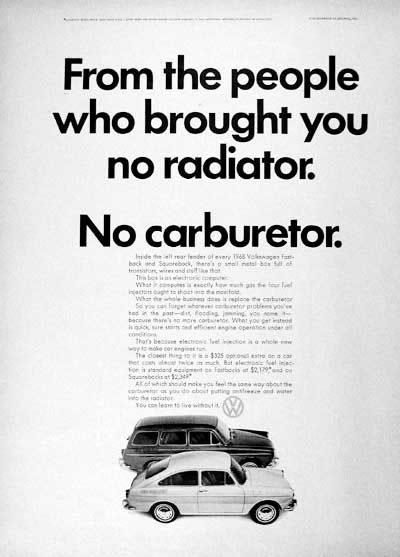 50 vieilles publicités Volkswagen (Combi, Coccinelle...) 14