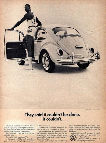 50 vieilles publicités Volkswagen (Combi, Coccinelle...) 16