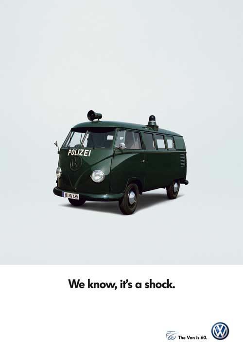 50 vieilles publicités Volkswagen (Combi, Coccinelle...) 20