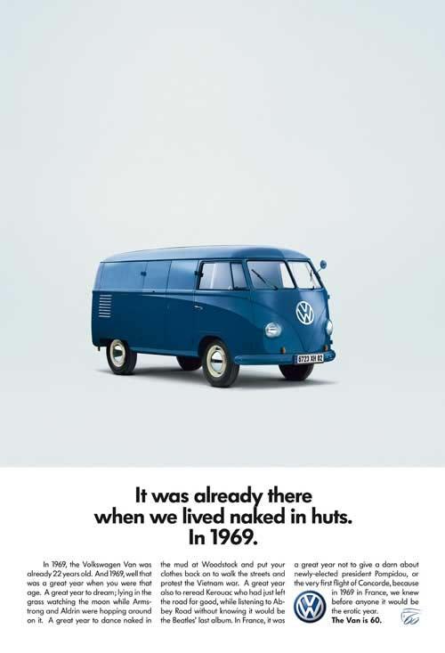 50 vieilles publicités Volkswagen (Combi, Coccinelle...) 21