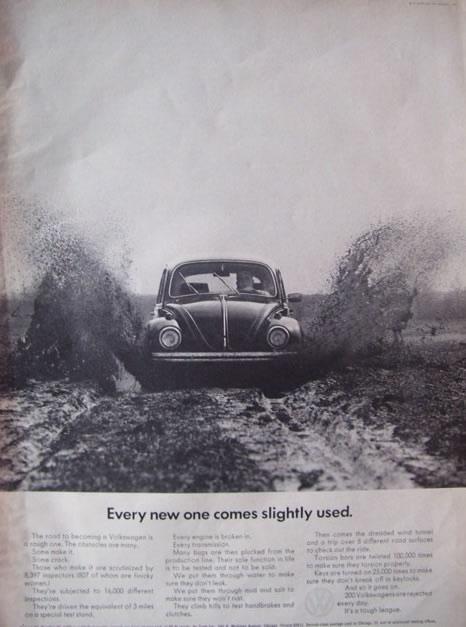50 vieilles publicités Volkswagen (Combi, Coccinelle...) 23
