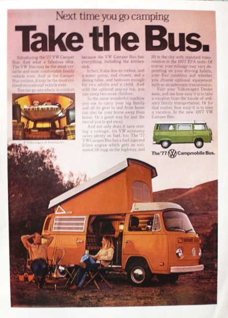 50 vieilles publicités Volkswagen (Combi, Coccinelle...) 25