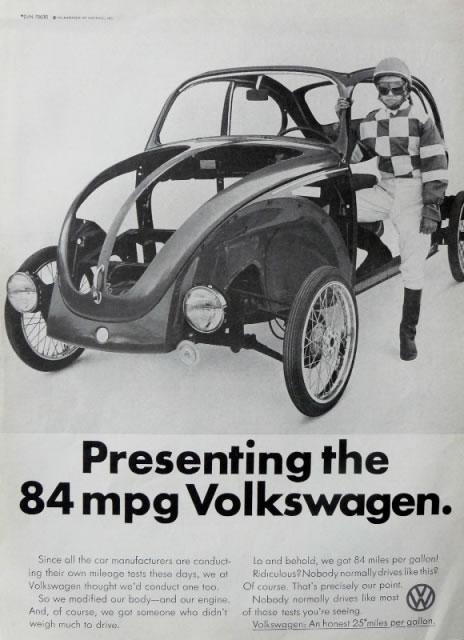 50 vieilles publicités Volkswagen (Combi, Coccinelle...) 26