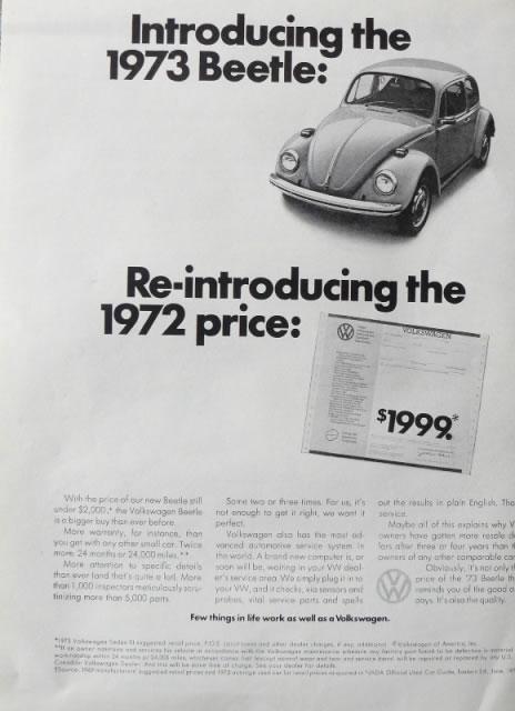 50 vieilles publicités Volkswagen (Combi, Coccinelle...) 27