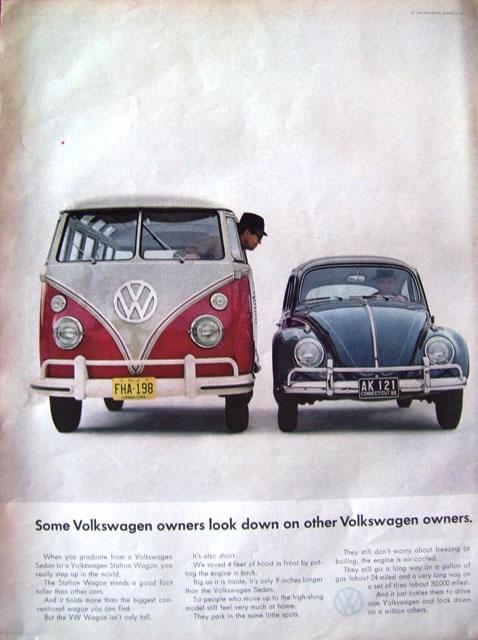 50 vieilles publicités Volkswagen (Combi, Coccinelle...) 29