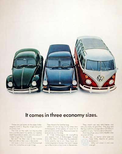 50 vieilles publicités Volkswagen (Combi, Coccinelle...) 30