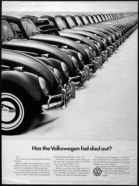 50 vieilles publicités Volkswagen (Combi, Coccinelle...) 31