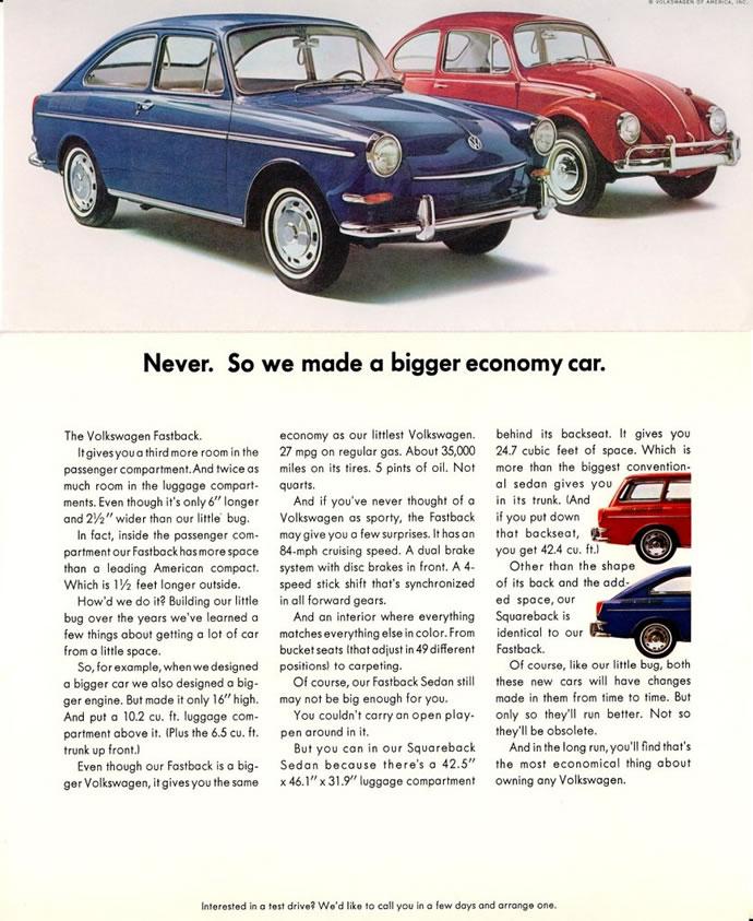 50 vieilles publicités Volkswagen (Combi, Coccinelle...) 32