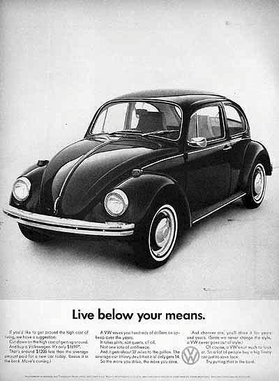 50 vieilles publicités Volkswagen (Combi, Coccinelle...) 33