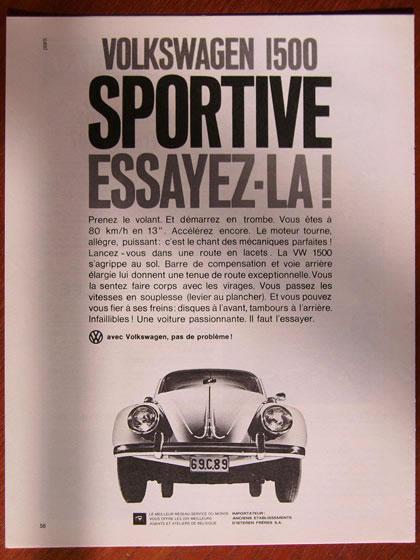 50 vieilles publicités Volkswagen (Combi, Coccinelle...) 39