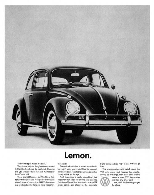 50 vieilles publicités Volkswagen (Combi, Coccinelle...) 44