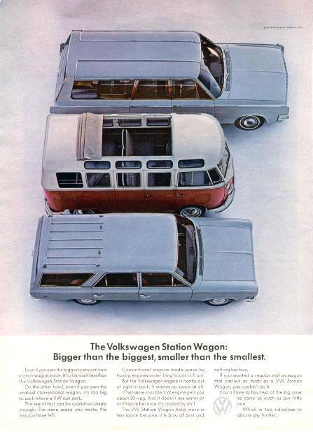 50 vieilles publicités Volkswagen (Combi, Coccinelle...) 45