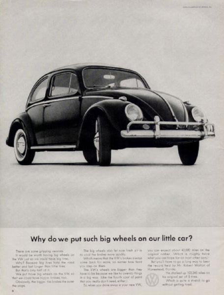 50 vieilles publicités Volkswagen (Combi, Coccinelle...) 47