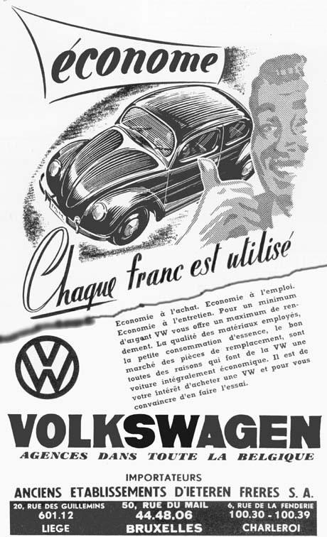 50 vieilles publicités Volkswagen (Combi, Coccinelle...) 50