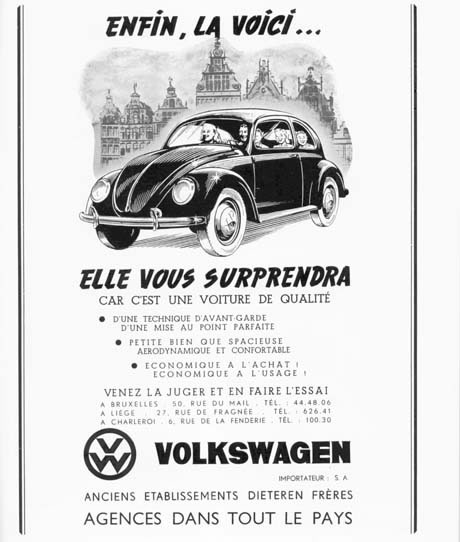 Häufig 50 vieilles publicités Volkswagen (Combi, Coccinelle) - #Olybop IX99